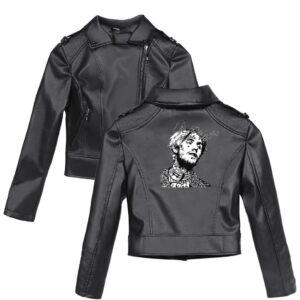 Lil Peep Leather Jacket #2