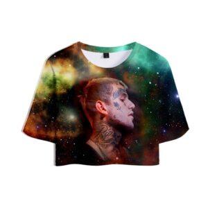 Lil Peep Cropped T-Shirt #8